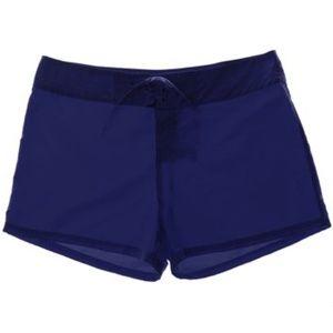ISLAND ESCAPE Tie-Front Board Shorts